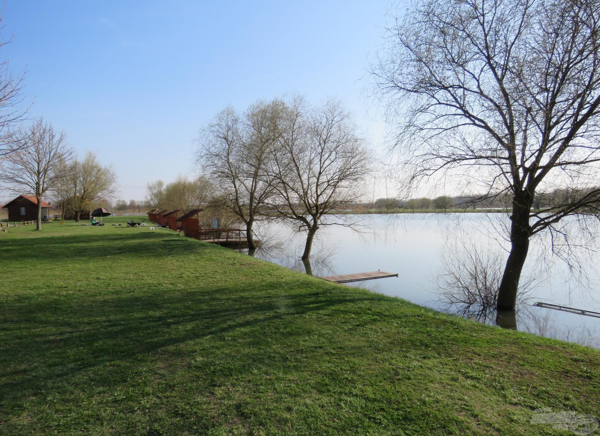 … a bojlis tó