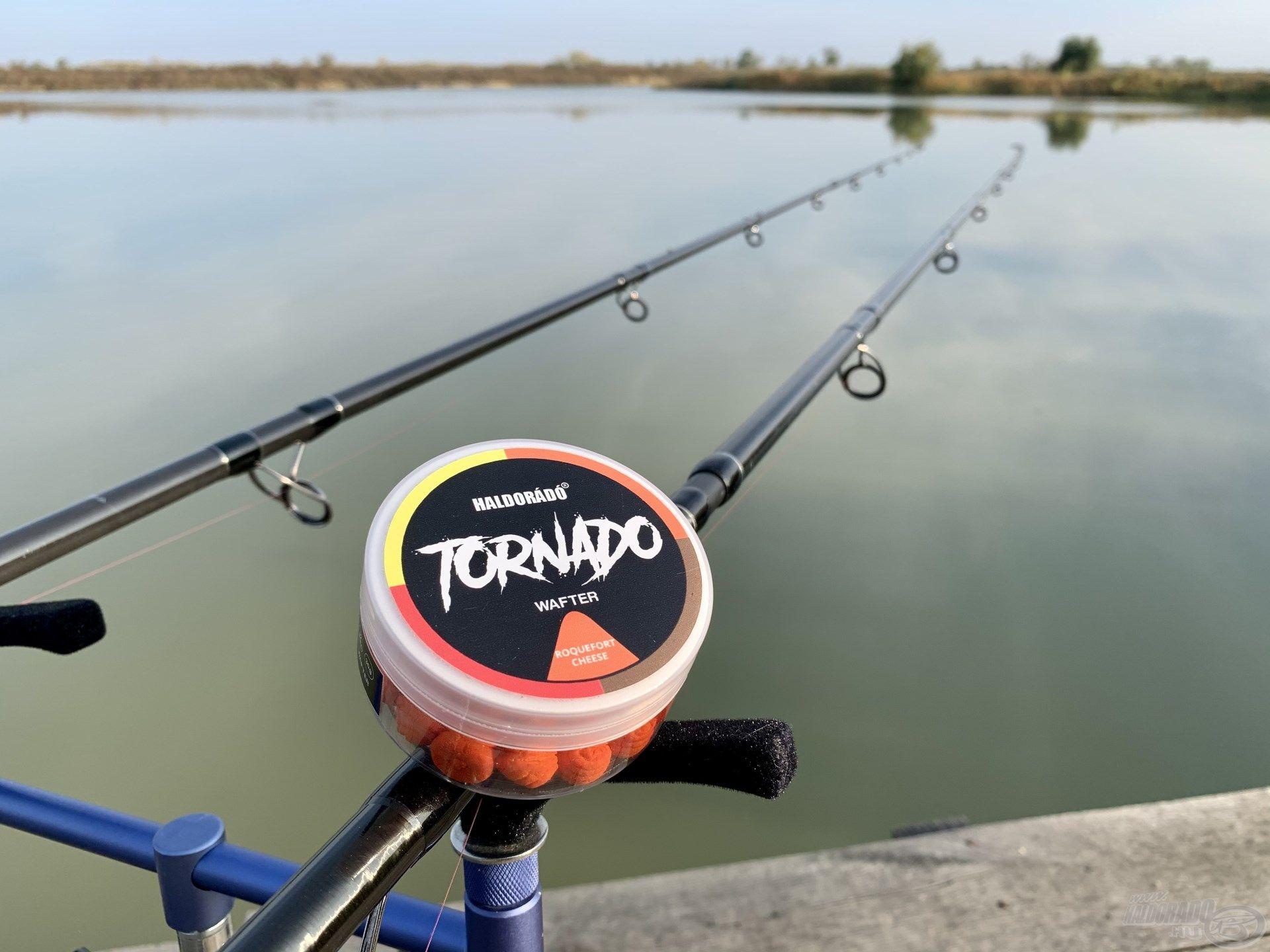 A TORNADO Wafter - Rokfort Sajt csali ezen a horgászaton mindent vitt, mint a tornádó
