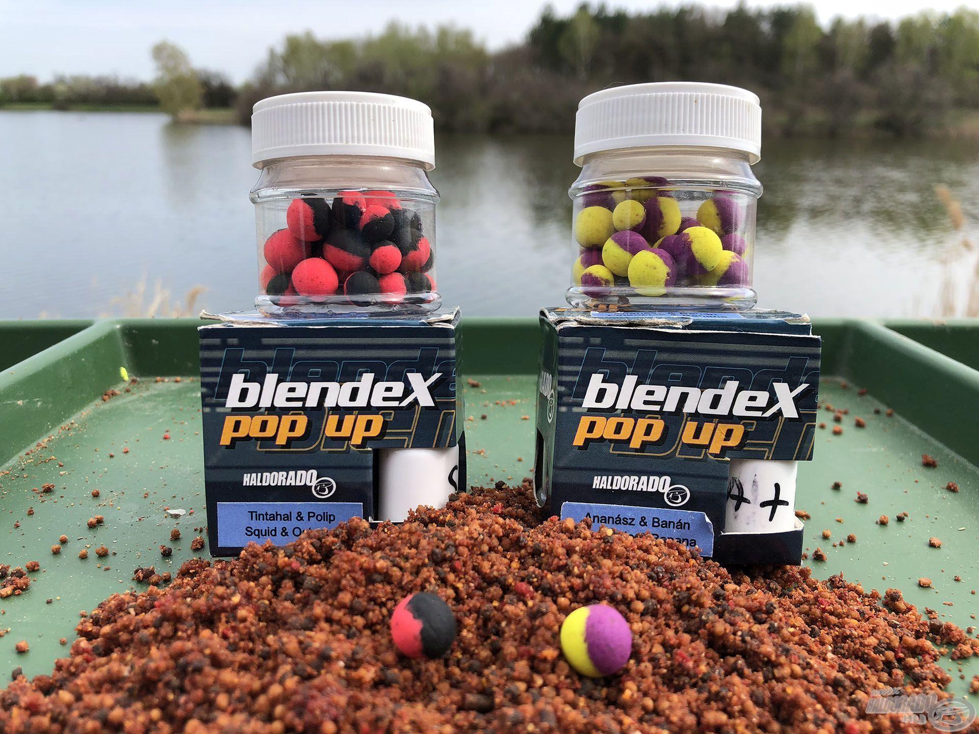 Két személyes kedvencem a BlendeX Pop Up csalik közül
