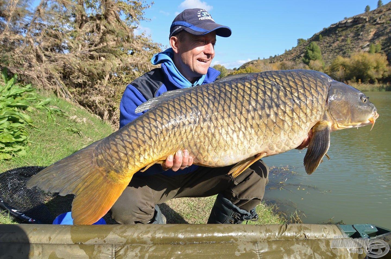 Tavakon és vad, természetes vízterületeken is gyönyörű halakat hozott!