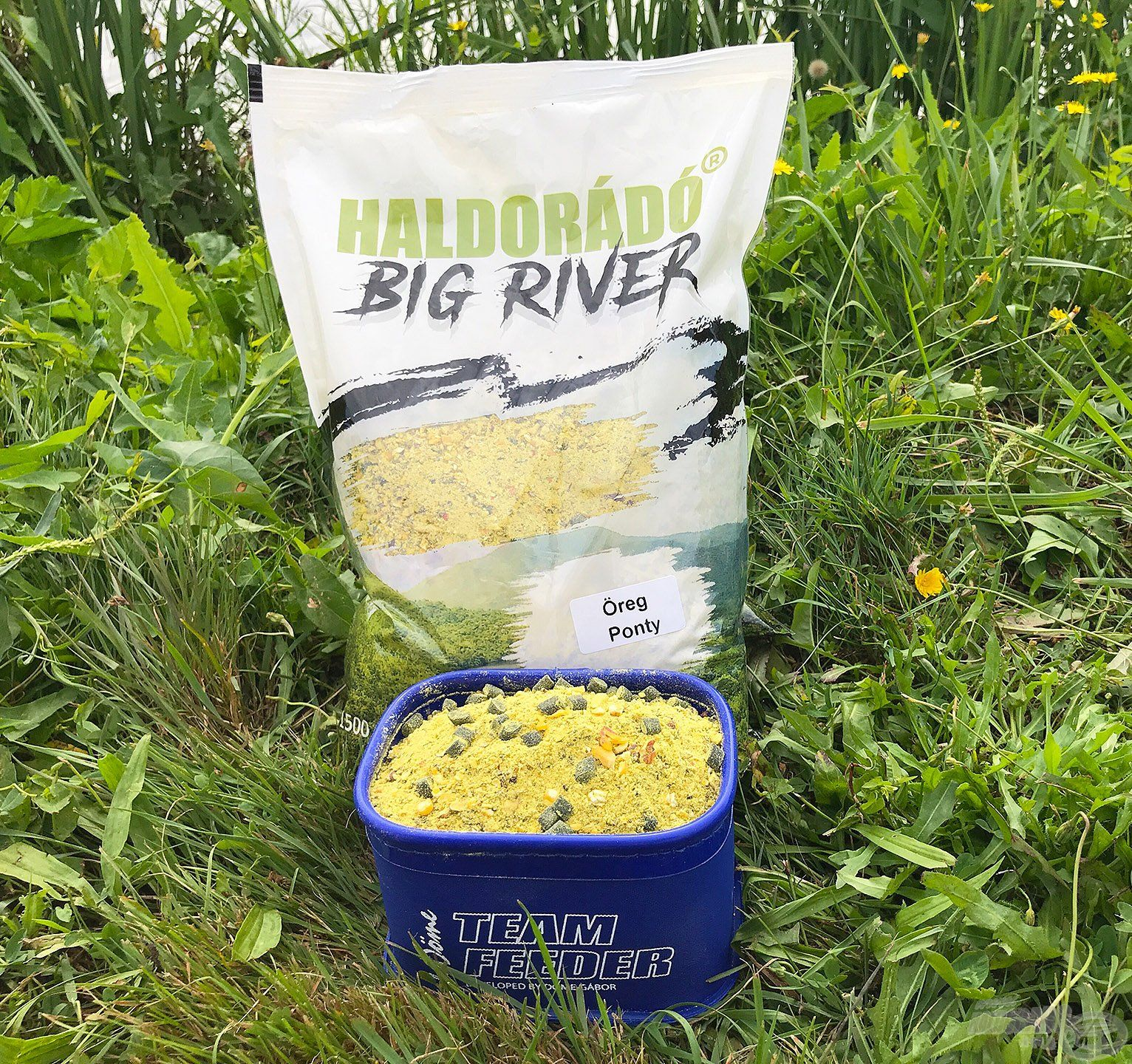 A Big River Öreg Ponty etetőanyag olyan univerzális keverék, amit szinte bárhol érdemes kipróbálni, ha pontyot szeretnénk fogni!