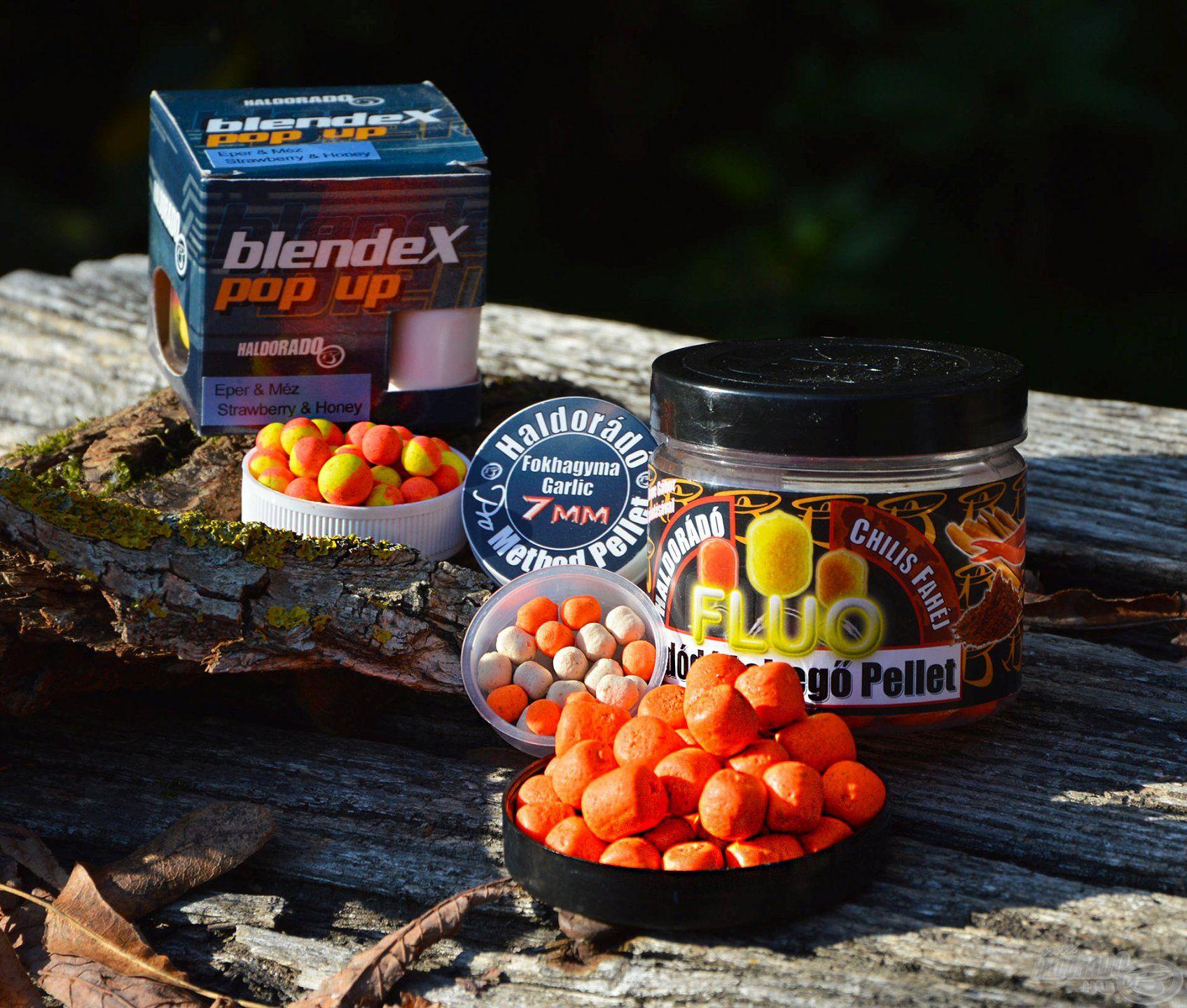 Az élénk színű, édes és édes-fűszeres csalik gyakran vezetnek eredményre az egyesületi tavakon