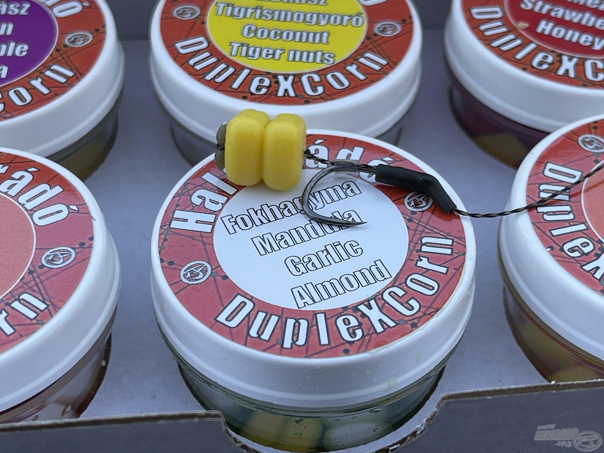 A Fokhagyma & Mandula ízesítésű DupleX Corn bizonyult a legjobb pontycsalinak a tavaszi horgászataim során
