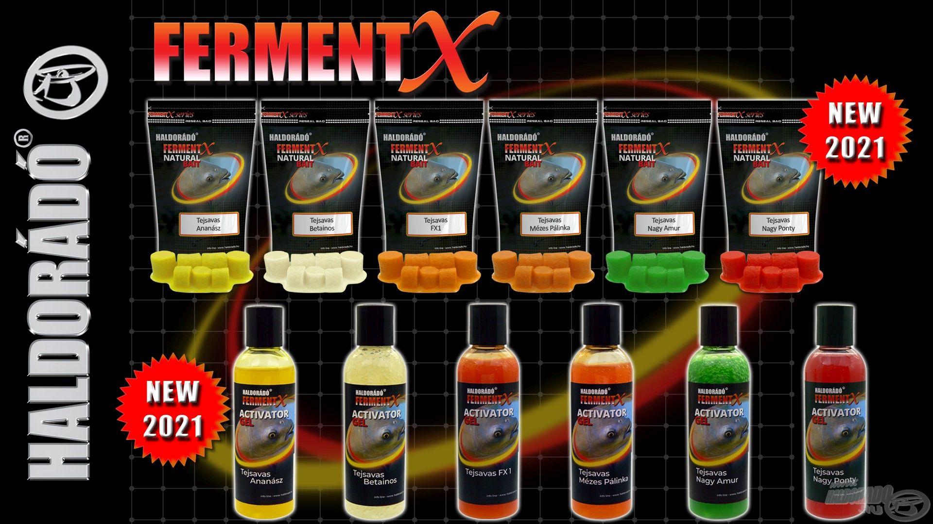 A FermentX fejlesztés továbbra sem áll meg, újabb hatékony csalogatóanyagokkal állunk a nagyközönség elé!