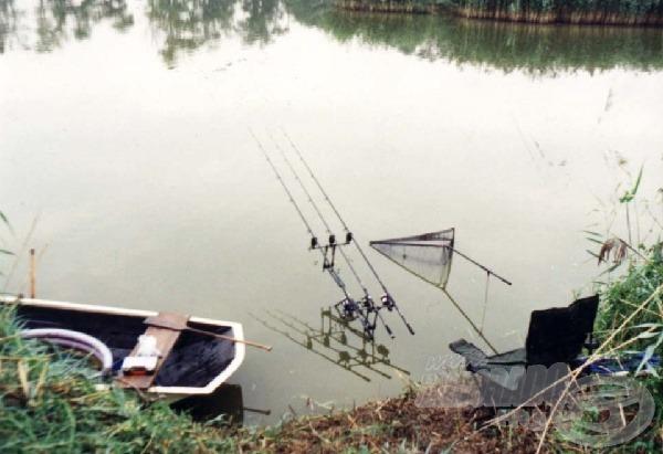 Kényszer szülte döntés, vízben a Rod Pod!