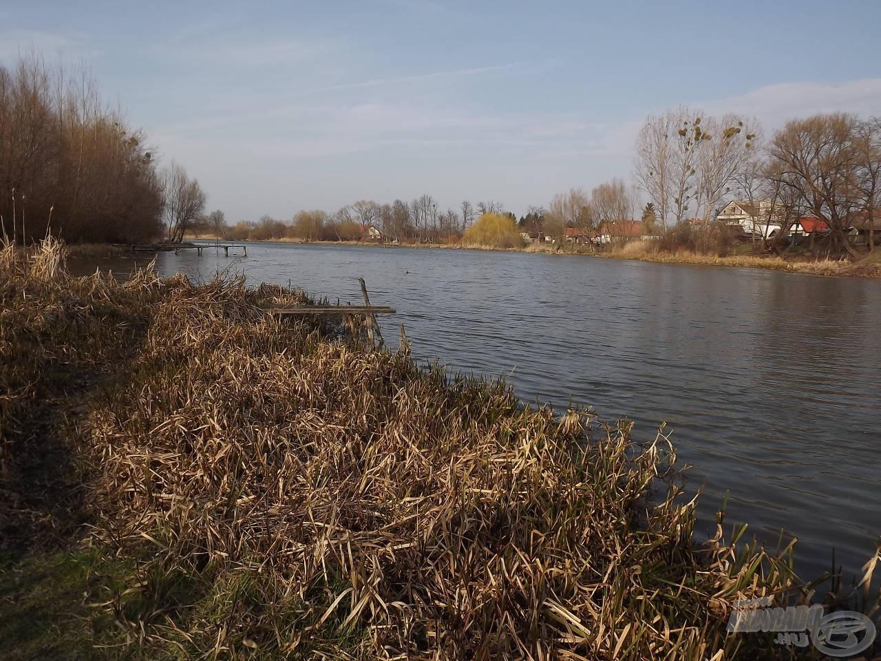 A téli Kis- Duna