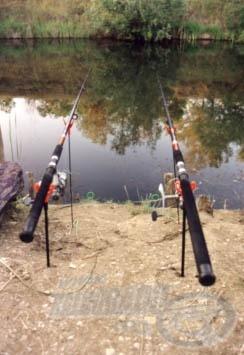Lejárt az aktív, kereső horgászat ideje. Elkezdődhet a passzív éjszakai domolykózás.