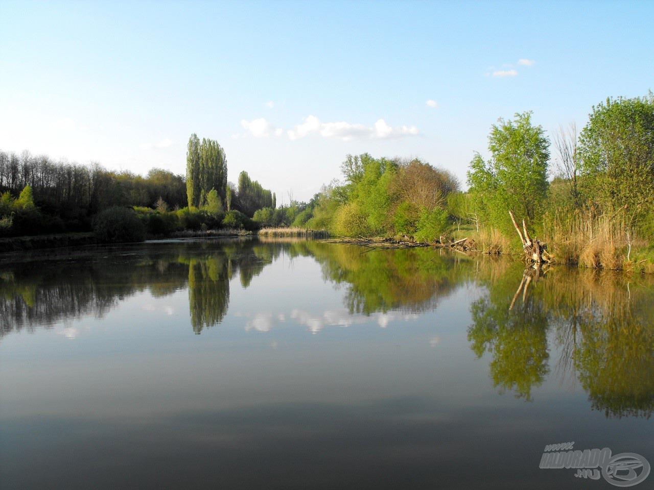 A meghorgászni kívánt vízterület