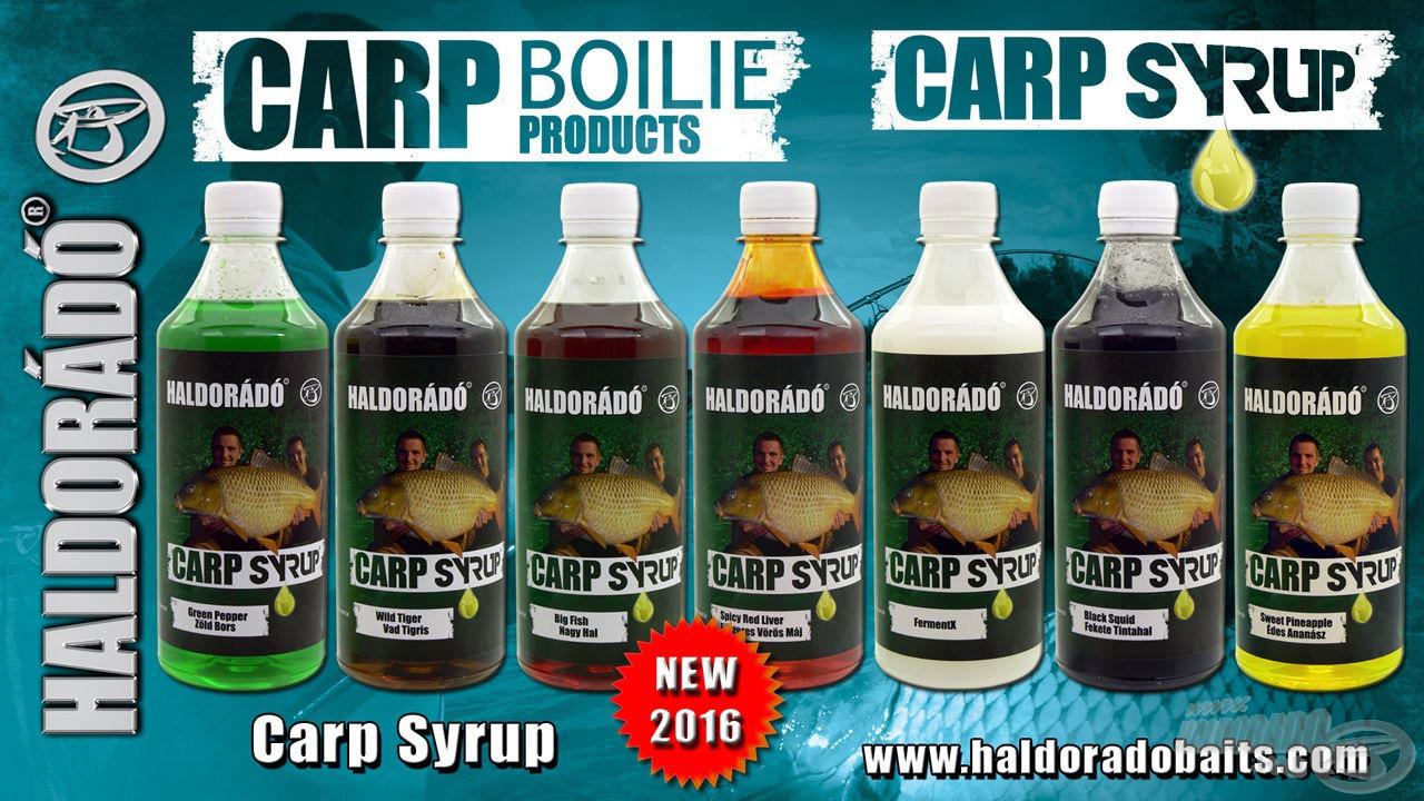 Az idei év másik nagyhalas Haldorádó újdonsága a Carp Syrup!