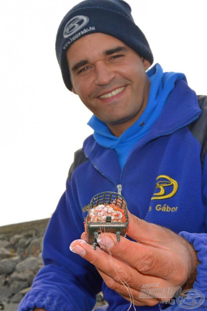 A sós kajából előbukkanó édes csontigombóc kikerülhetetlen a halak számára