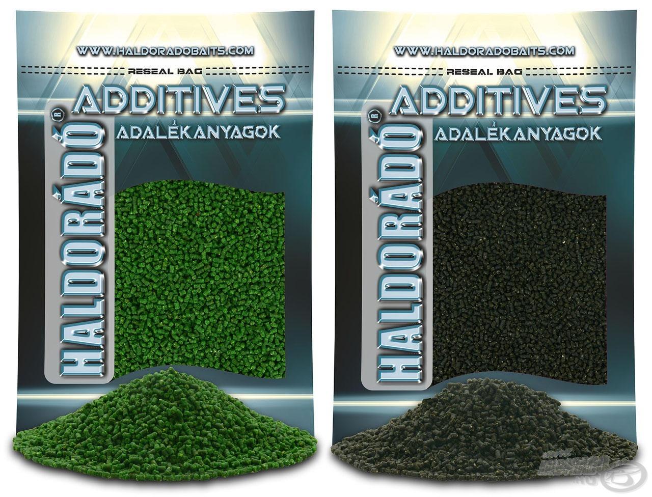 A Method Green és a Fekete Tintahal ízesítésű mikro pelletek hallisztes…