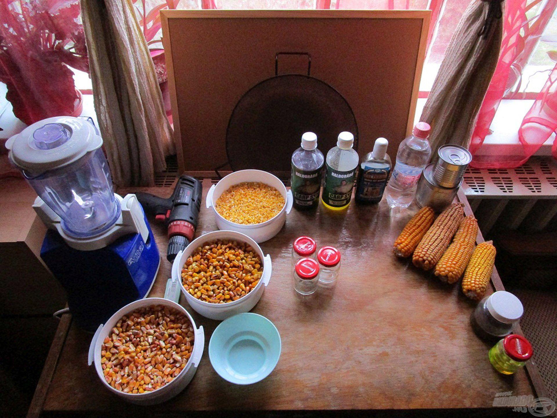 Ebben a cikkben az általam használt kukoricás adalékokat és csalikat mutatom be