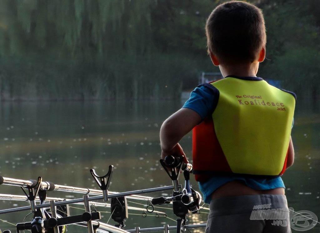 Nekünk kell a lehetőségeket biztosítani, hogy legyen következő horgásznemzedék!