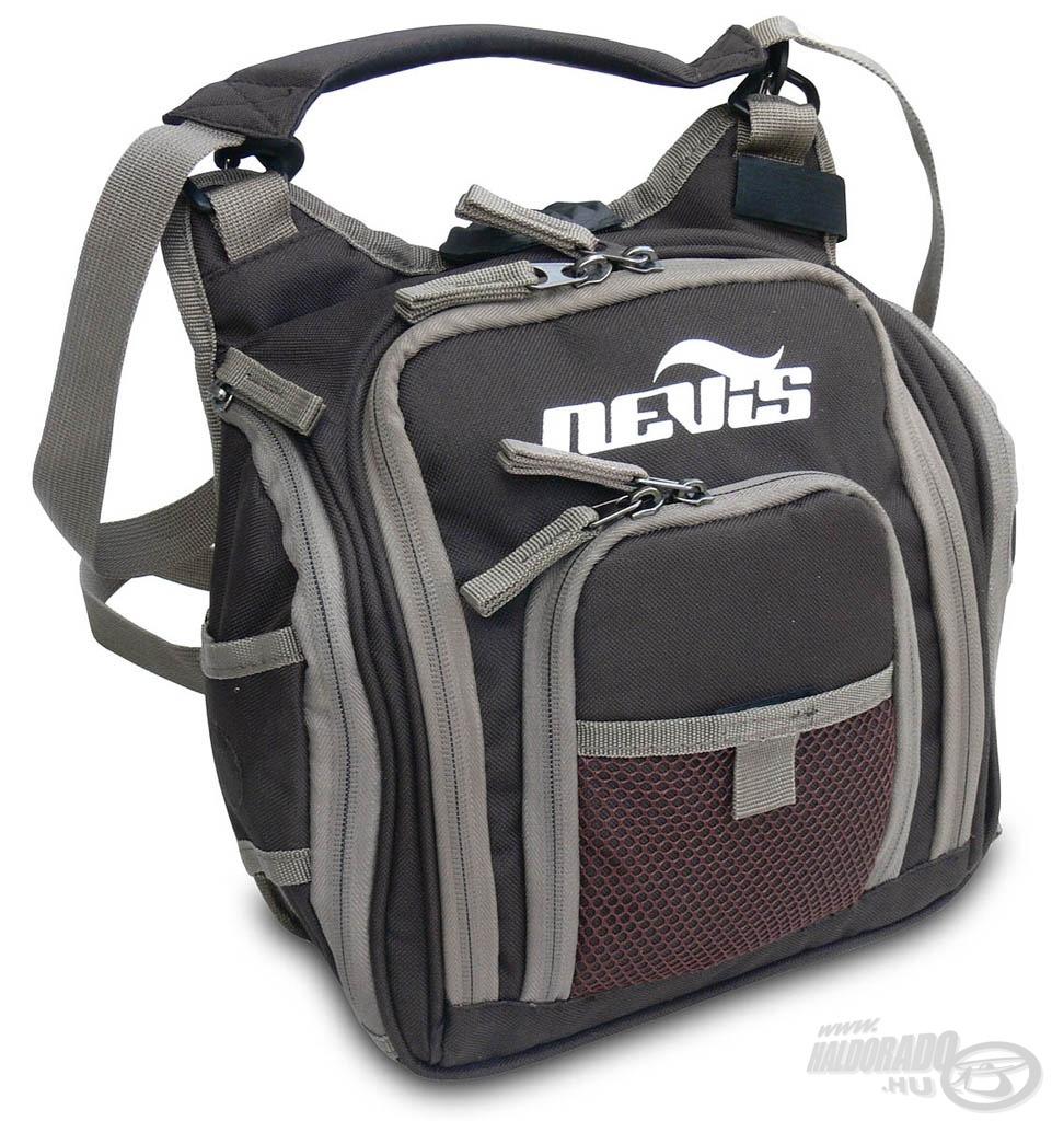 Ideális táska, ha kevés műcsalit szeretnénk magunkkal vinni