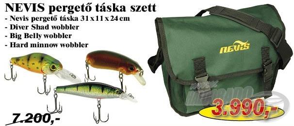 Ideális választás kezdő pergető horgászok számára