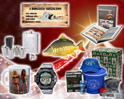 Ajándékötletek horgászoknak 4. rész - Azoknak, akik az utolsó pillanatra hagyták a vásárlást