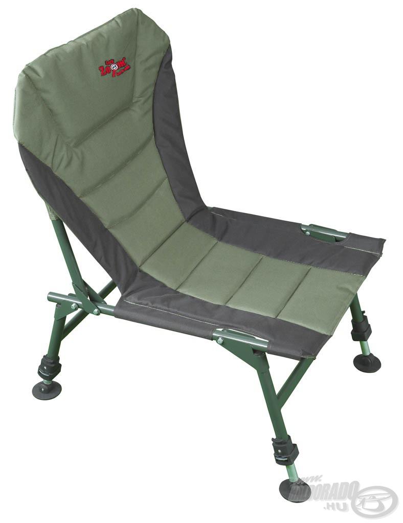 Párnázott fotel a nagyobb komfortérzetért