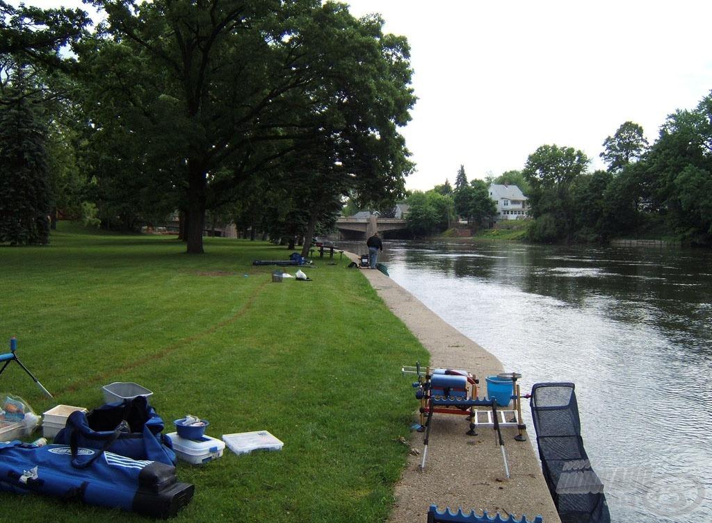 A St. Joseph folyó és a McNaughton park már ismerős képe
