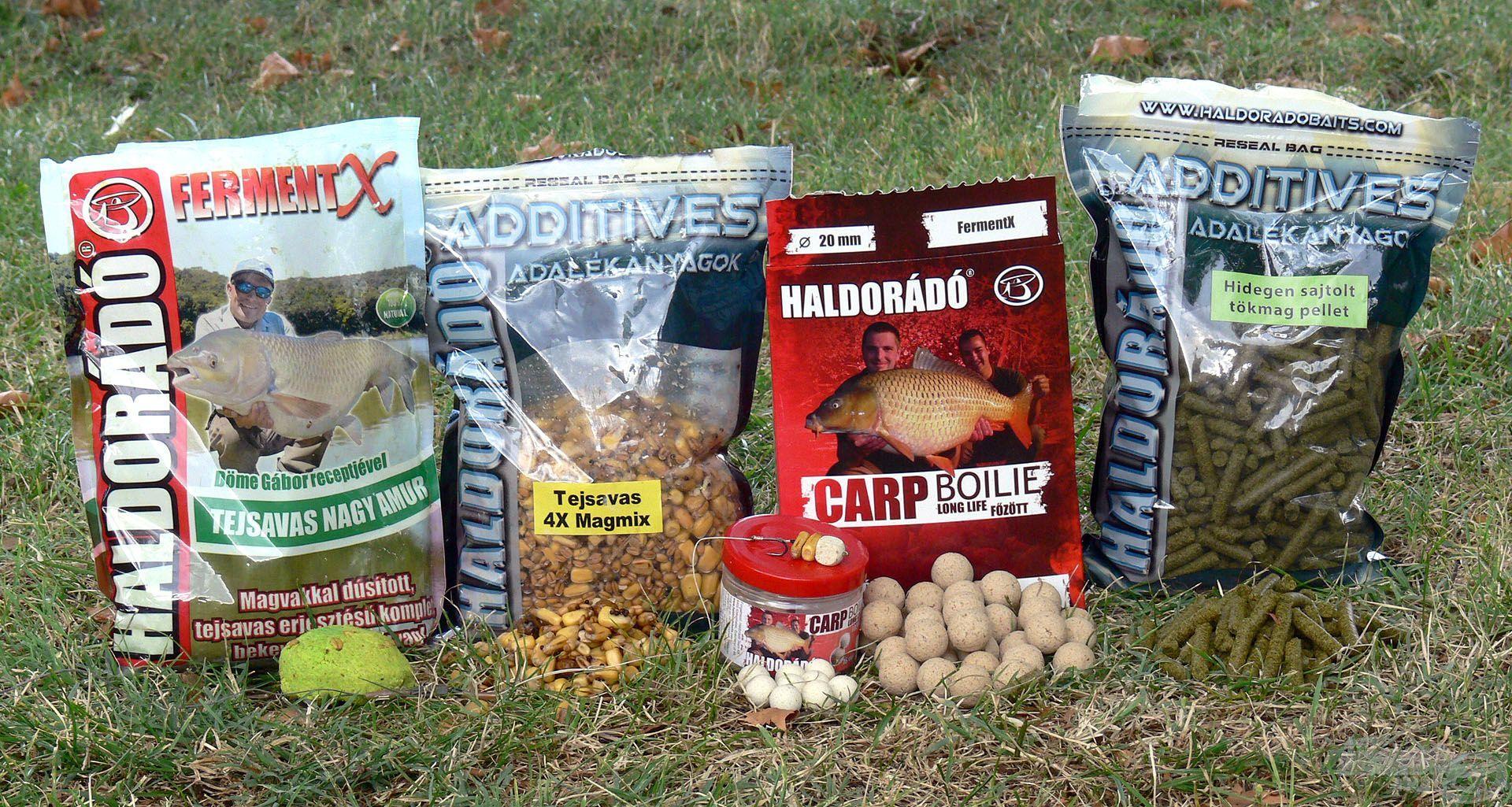 Az eredményes amurhorgászat alapfeltétele a megfelelő összetételű alapozó etetés
