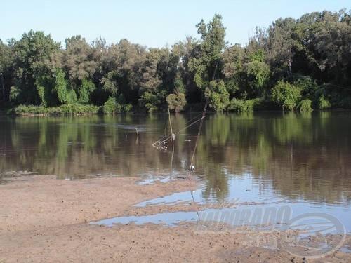 A víz néha méterekkel közelebb jött hozzánk