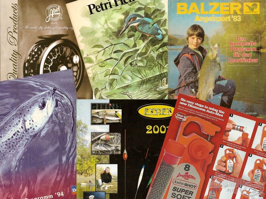 Tackle brochure - termékkatalógus