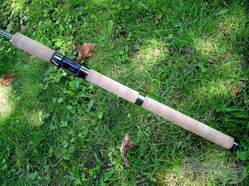 Full cork handle - teljes hosszúságú parafa botmarkolat