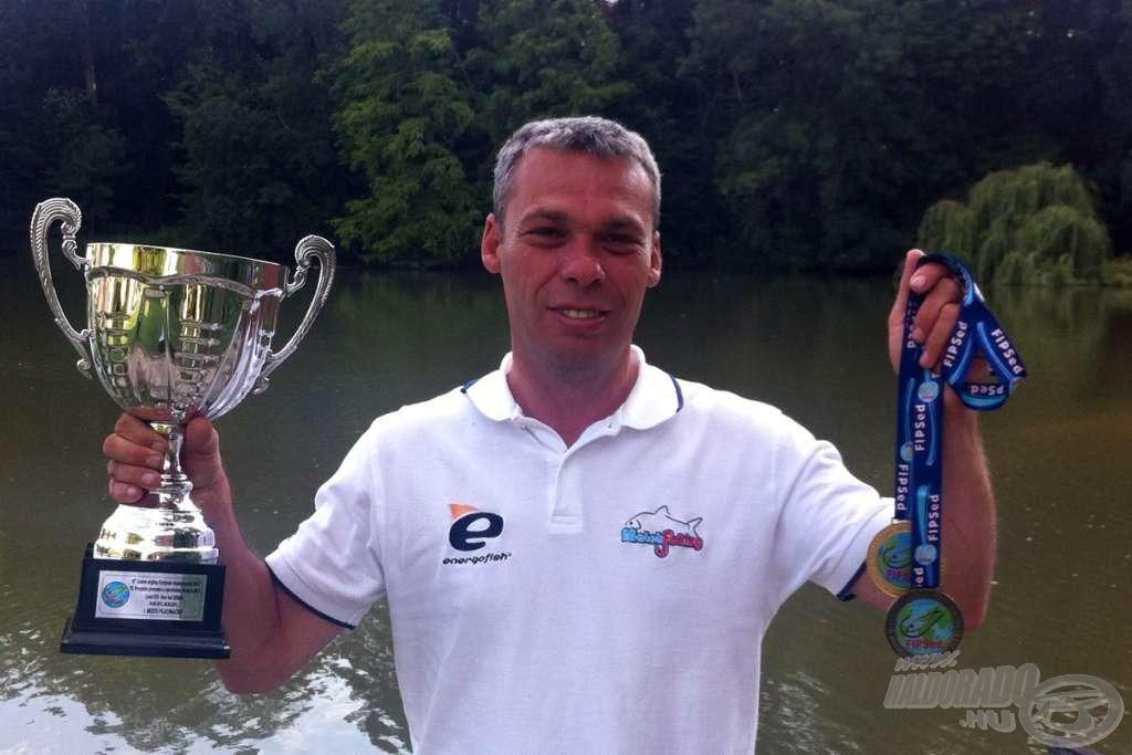 Arany és bronzérem a szerbiai Európa-bajnokságról