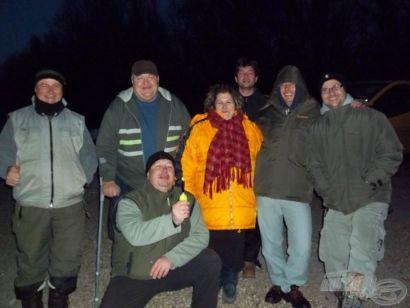 Az egyhalas menyhalas Duna parti party