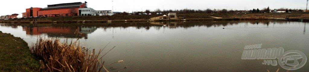 A tó teljesen kiolvadt