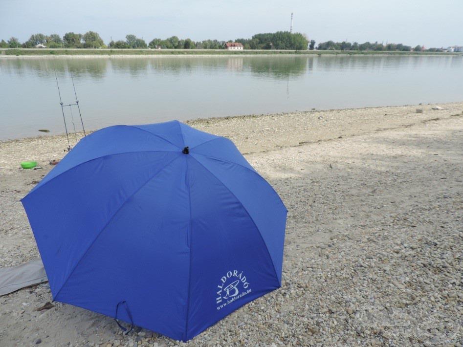 Alkalmi táborom a Duna partján