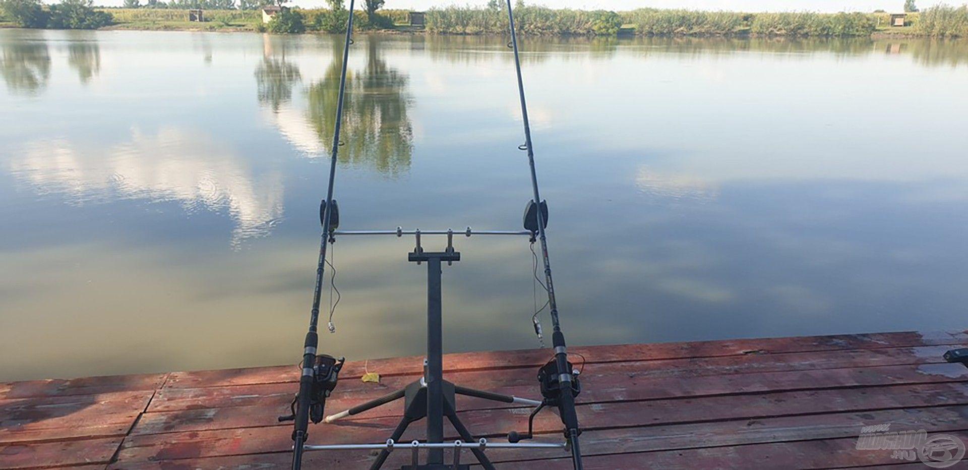 A horgászbotok bevetésen