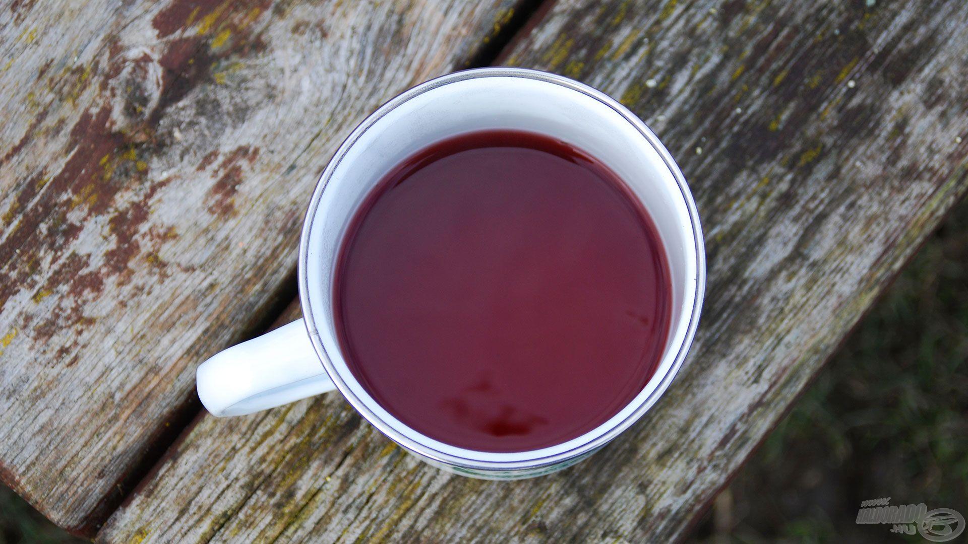 Télen alap kiegészítő a forró tea számomra