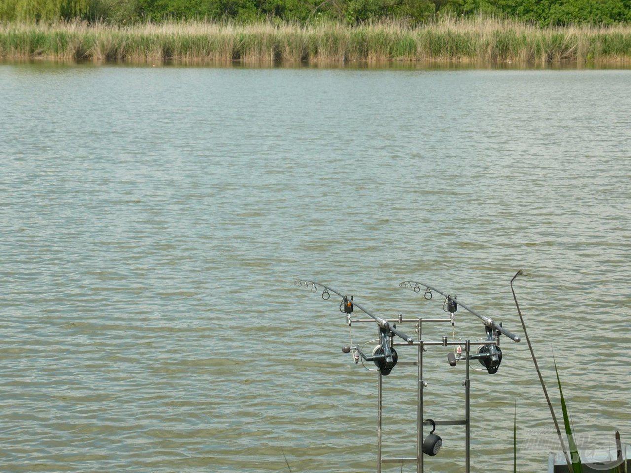 A mi kis horgászhelyünk
