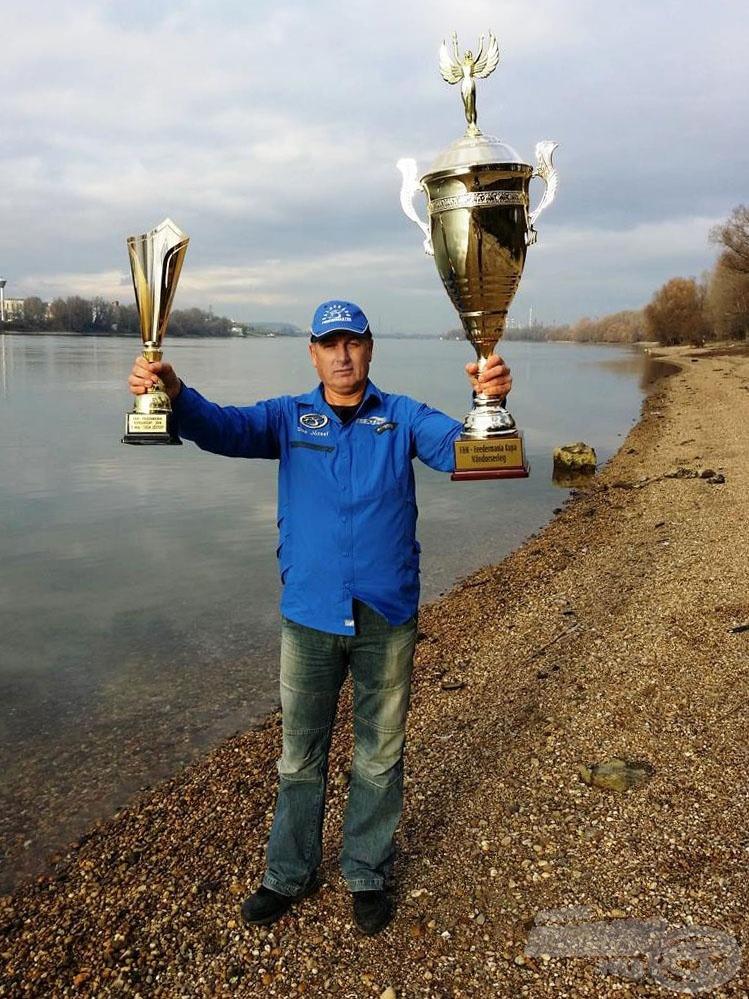 A 2014. évi F&H - Feedermánia kupa győztese: Sisa József
