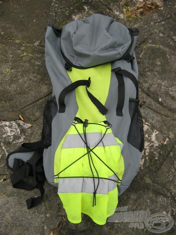 Vettem egy nagy űrtartalmú hátizsákot, hogy könnyebben tudjam követni a márnabandákat…