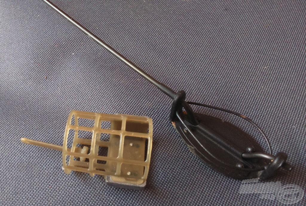 A horgászat során használt etetőkosarak…