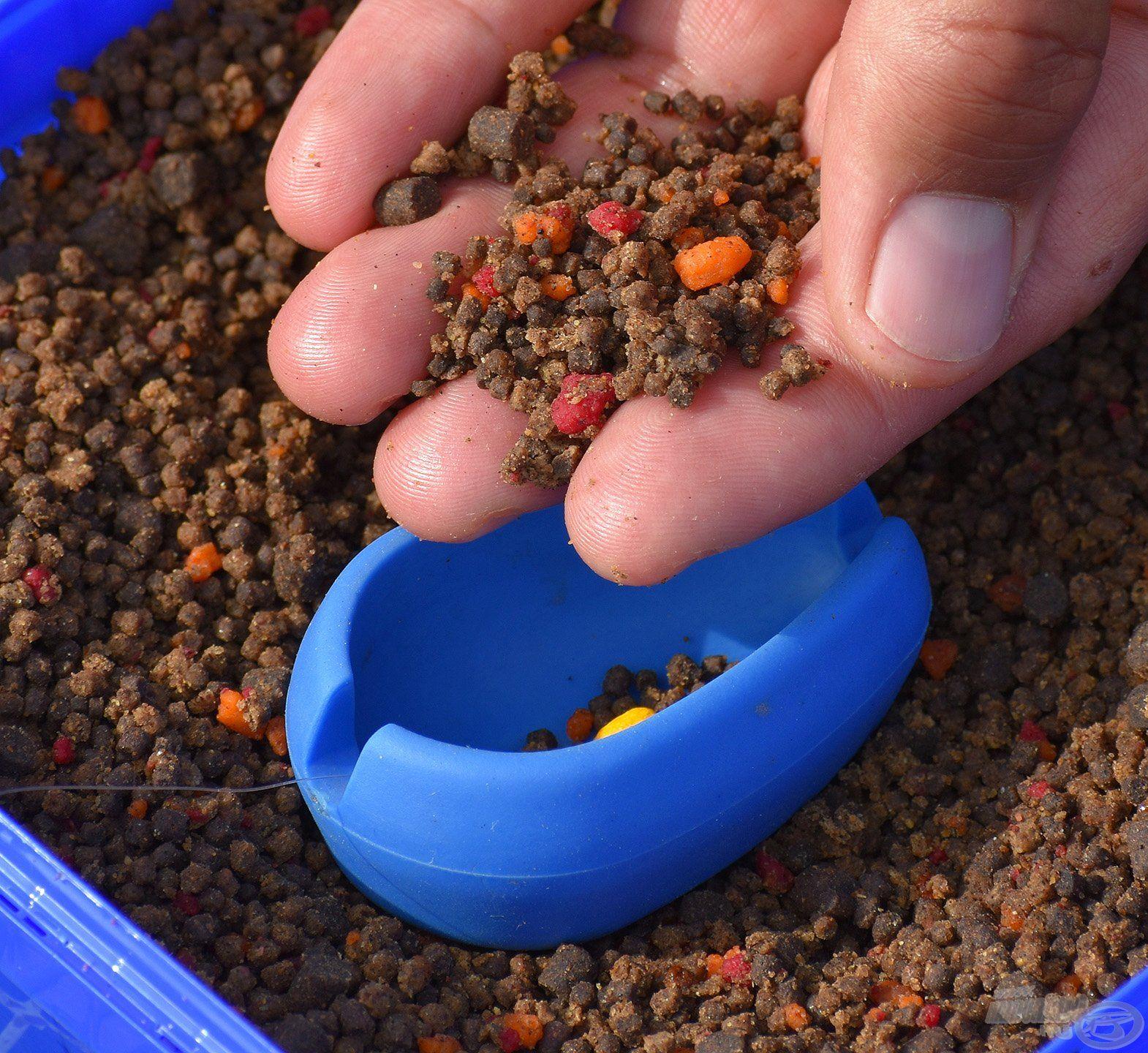 A Dart kosarak kialakításának köszönhetően akár mikropellettel töltve is távolra dobhatók
