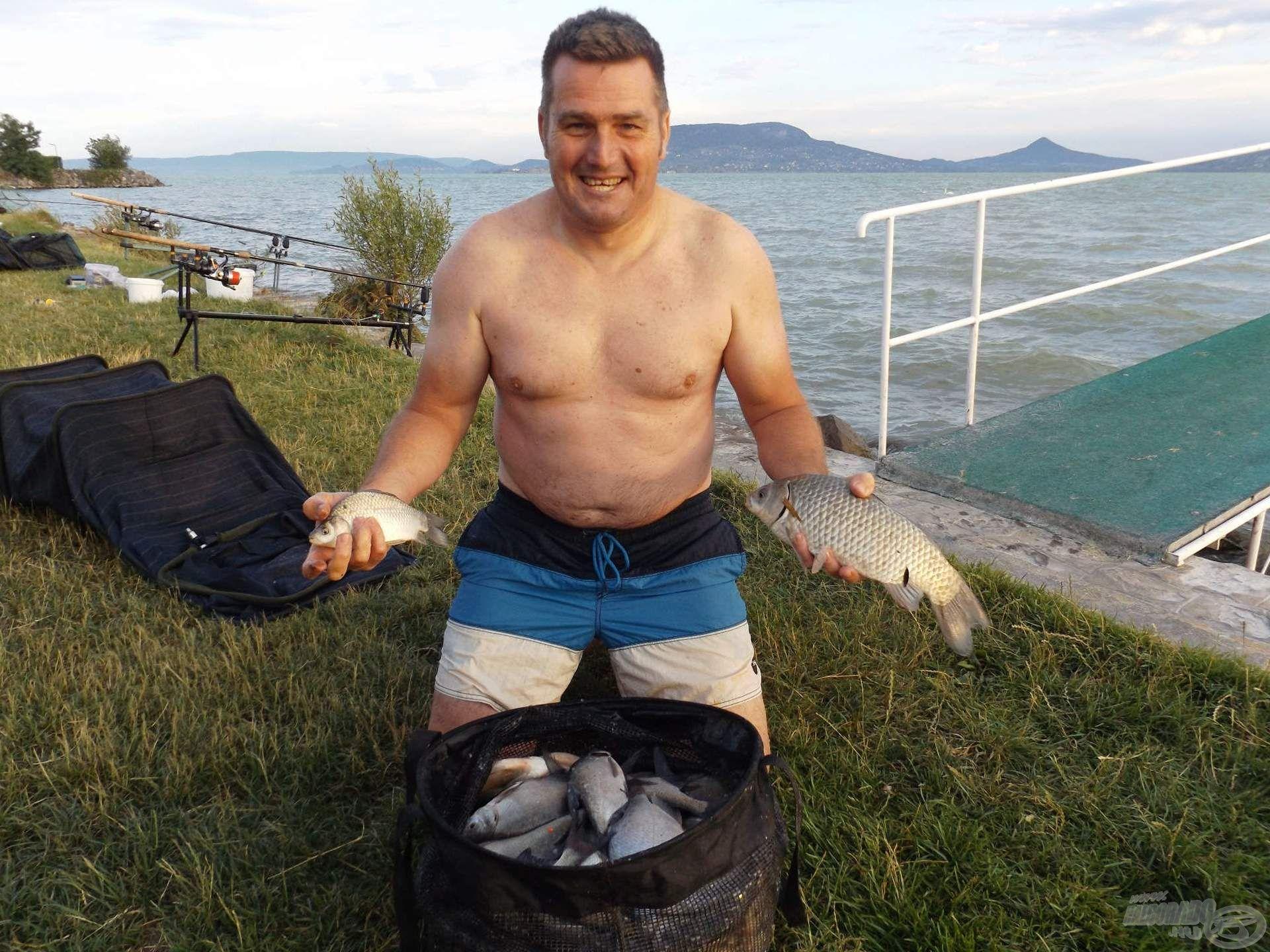 Atosz is közel járt Segalhoz, mindössze 780 grammnyival maradt le