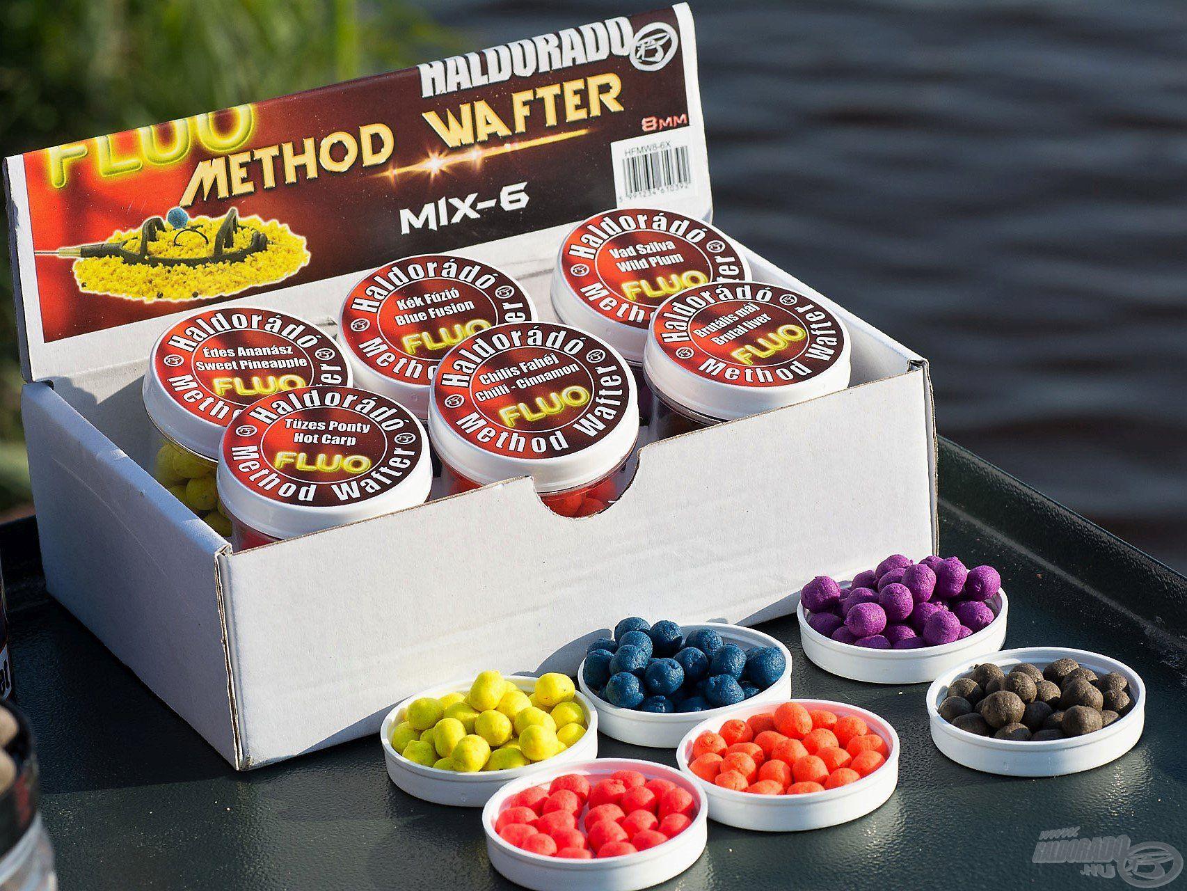 A Fluo Method Wafter fogóssága nemcsak a jól eltalált ízekben rejlik, hanem a feltűnő színekben is!