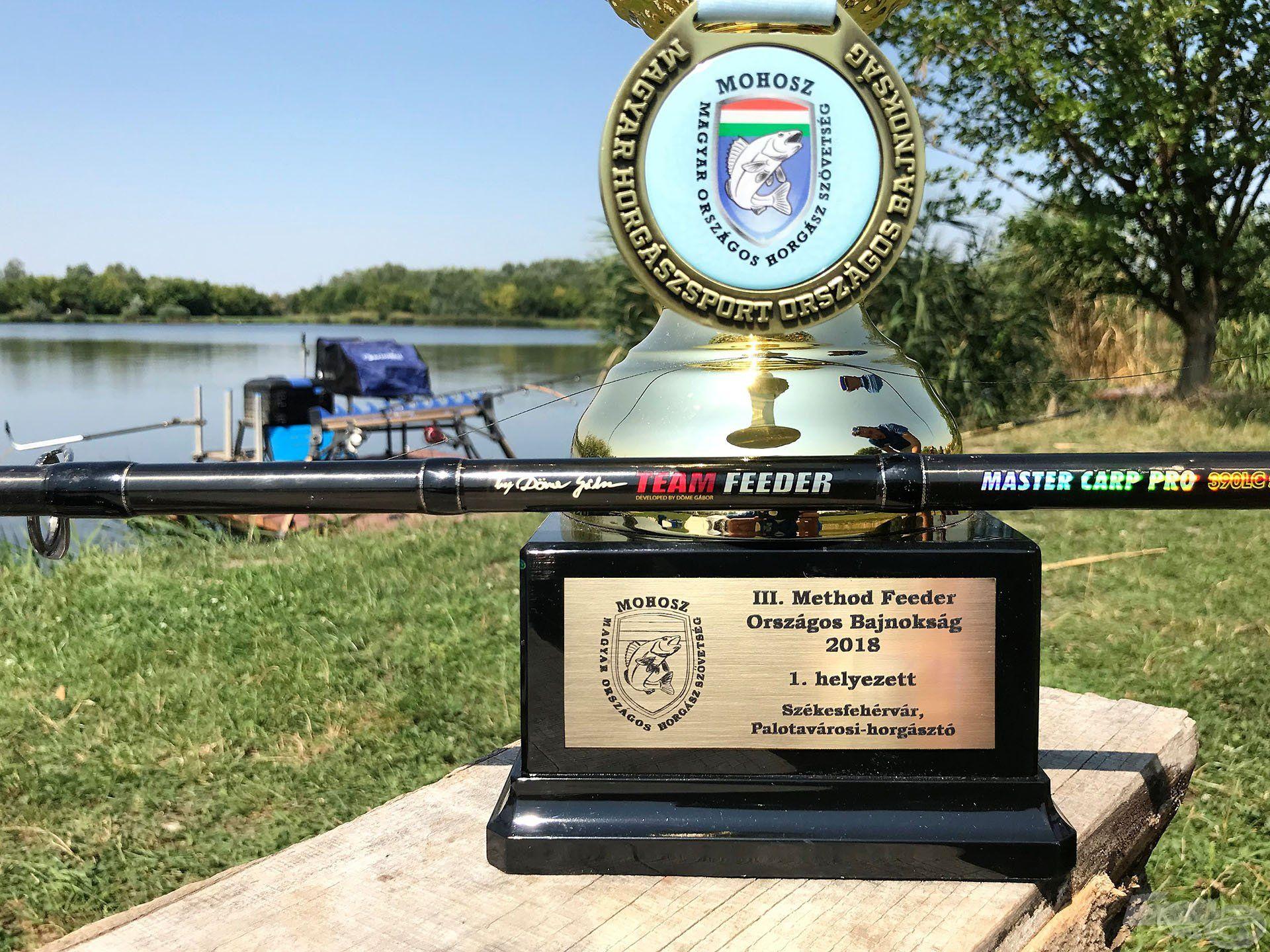 A By Döme TEAM FEEDER felszerelések már hosszú ideje társaim a horgászatban, immár a sikerben is!