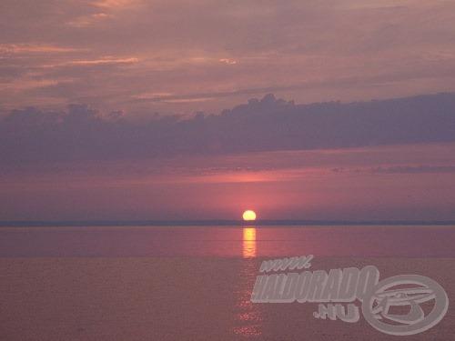 A napkelte percei sokszor meghozzák a várva várt kapást