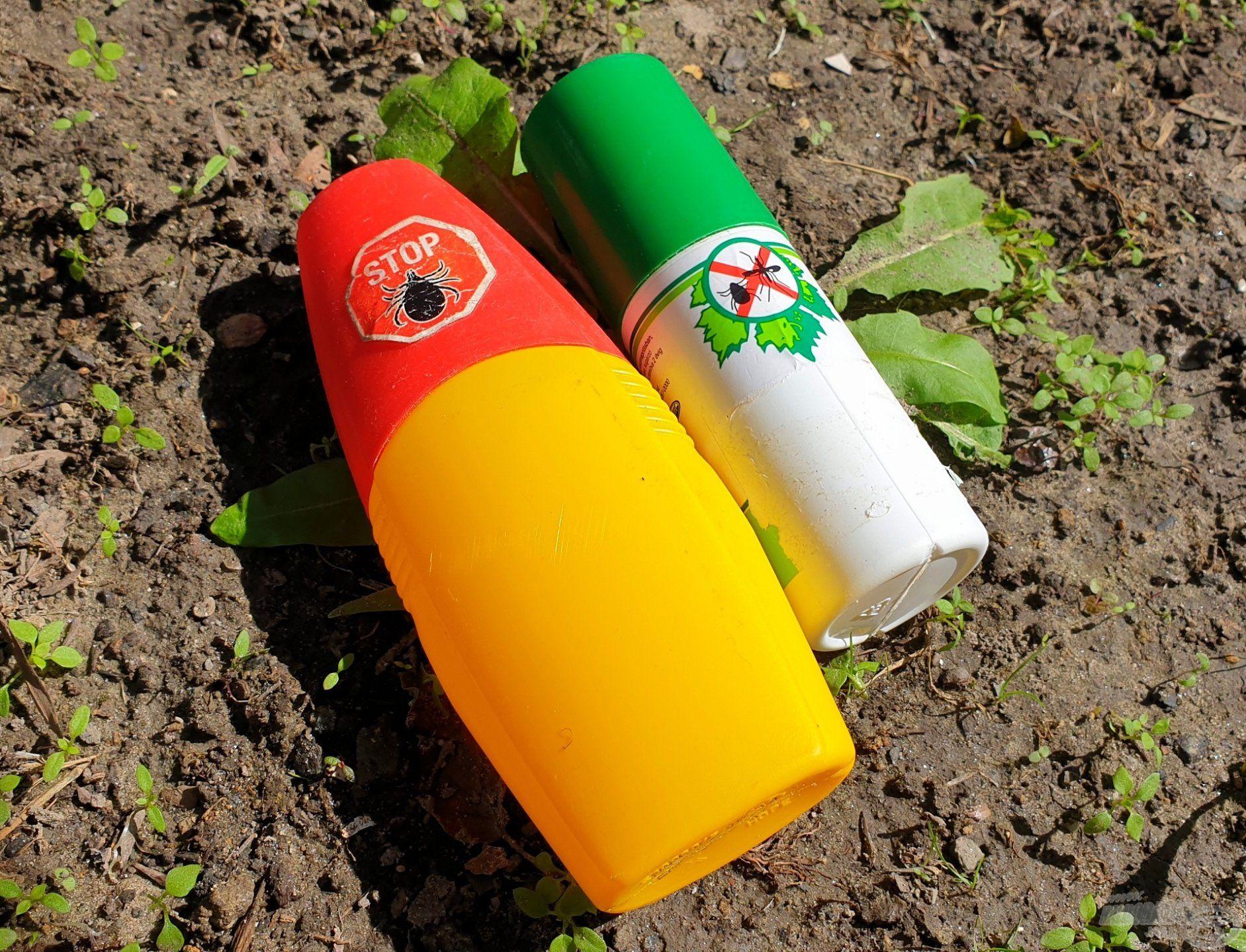 A kereskedelmi forgalomban többféle szúnyog- és kullancsriasztó készítmény kapható