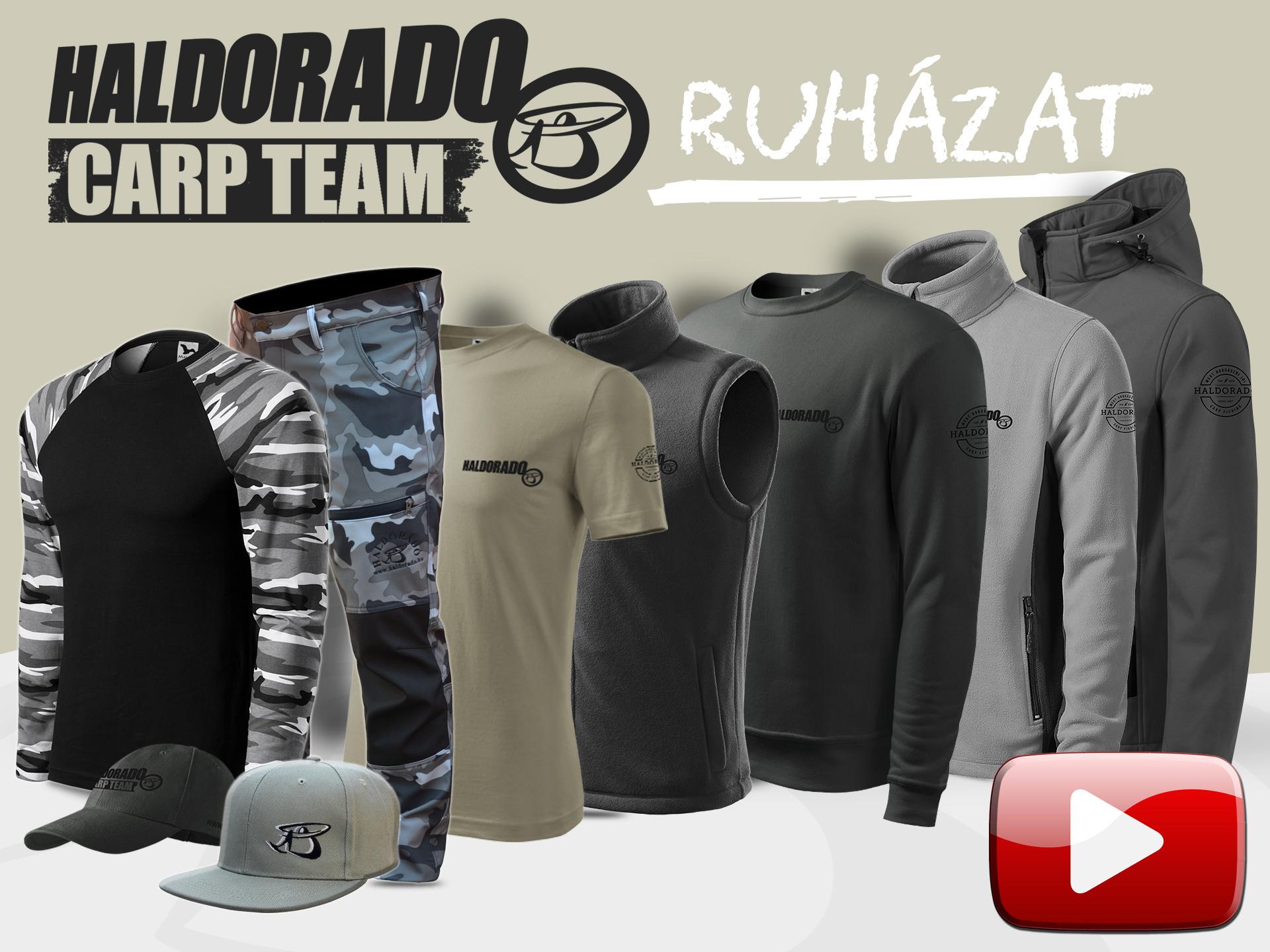 Bemutatjuk az új Haldorádó Carp Team ruházatot