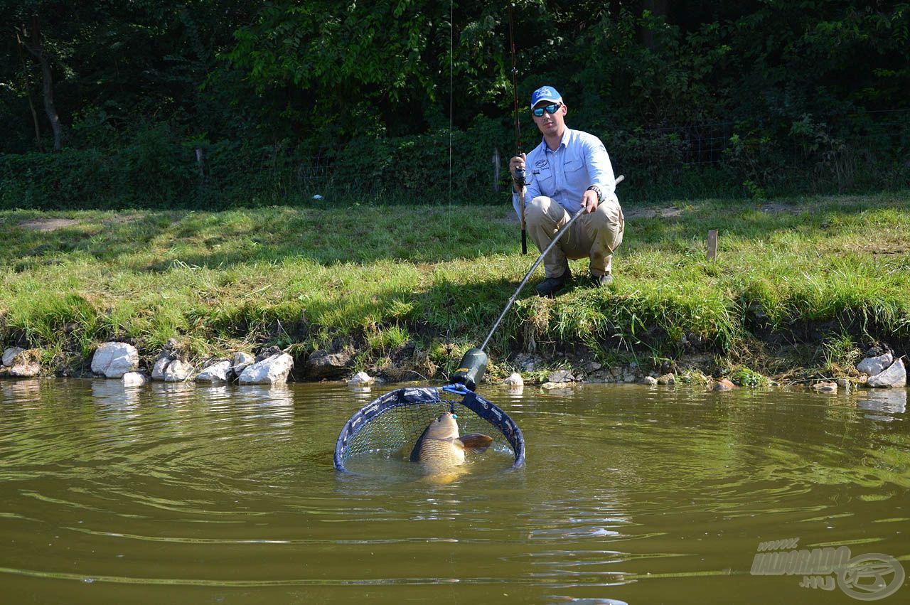 … miközben az új felszerelésekkel nemcsak élmény, de eredményes is lesz a horgászat!