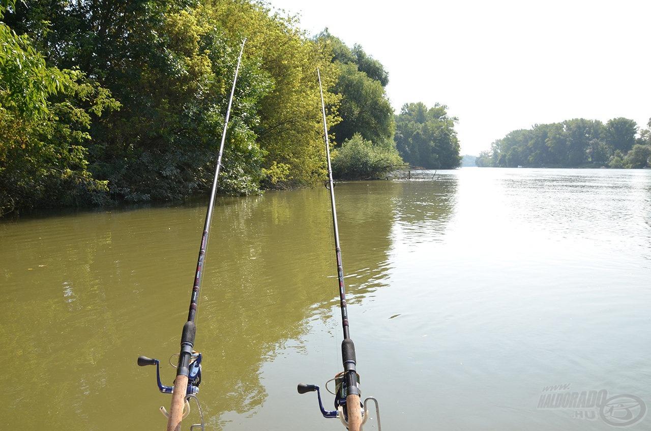… ideálisak a csónakos álló- és folyóvízi horgászatokhoz