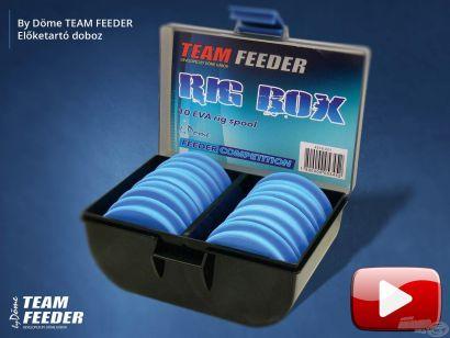 Bemutatom a By Döme TEAM FEEDER Előketartó dobozt