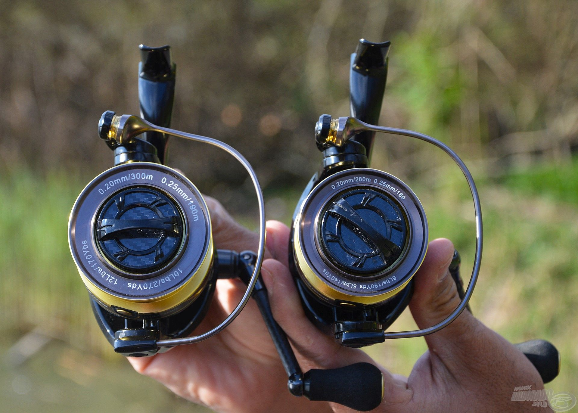 A Gold Serie orsó elérhető 5000-es és 6000-es méretekben
