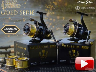 Bemutatom a By Döme TEAM FEEDER Gold Serie orsókat
