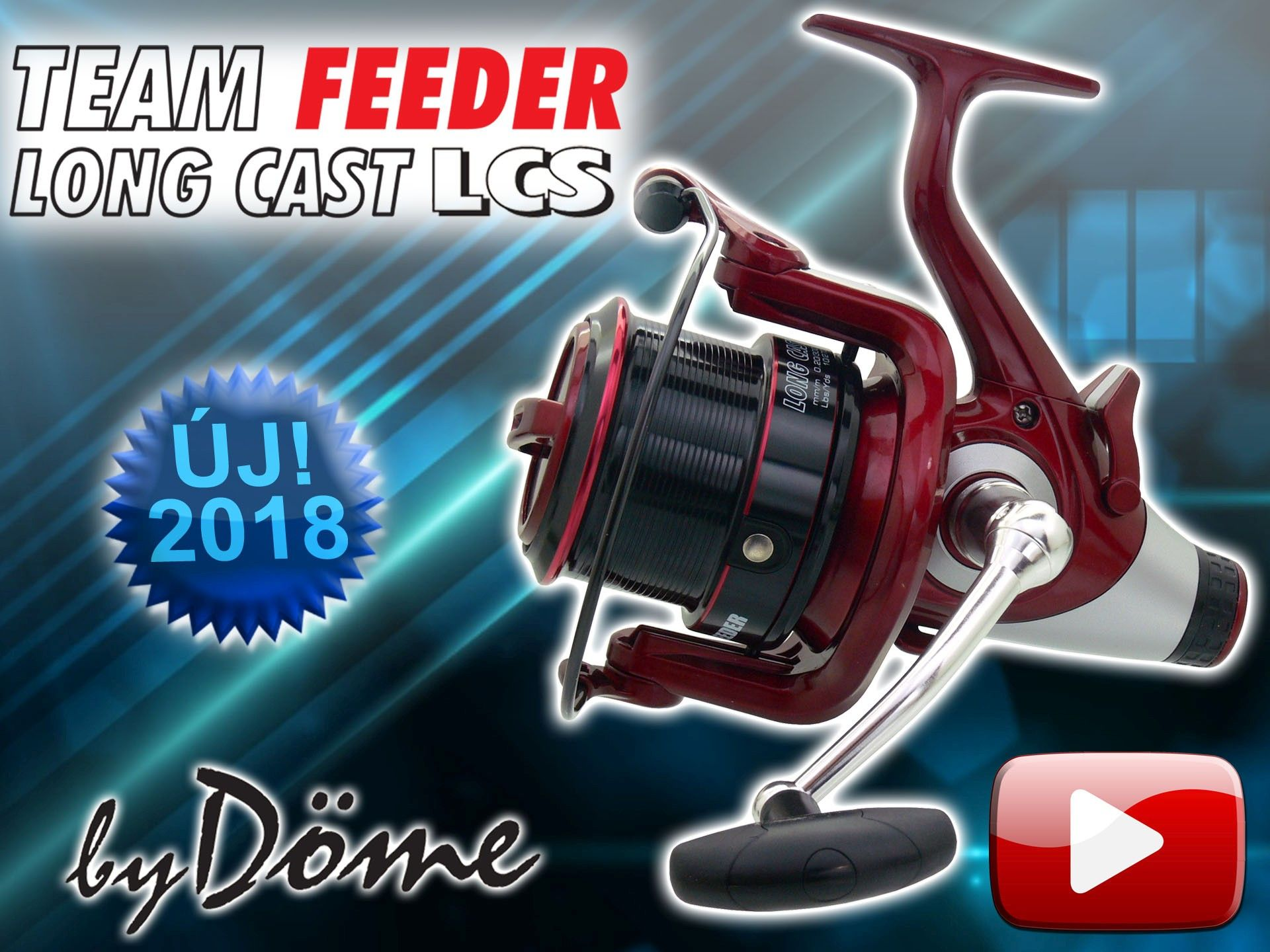 Bemutatom a By Döme TEAM FEEDER Long Cast 5500 LCS orsót