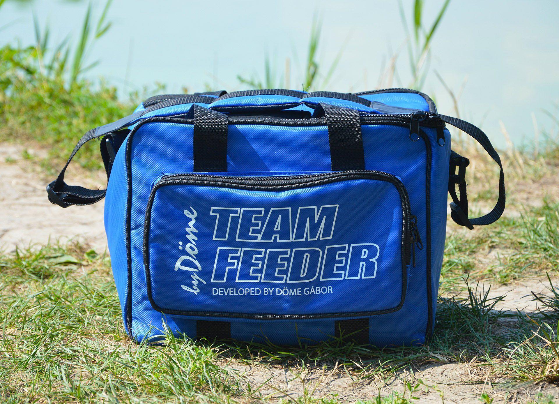 Íme, az egyik személyes kedvencem, a TEAM FEEDER Hűtőtáska, mely minden évszakban nagyon hasznos társ a horgászatok során!